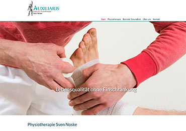 Website Webdesign Physiotherapeut Aschaffenburg