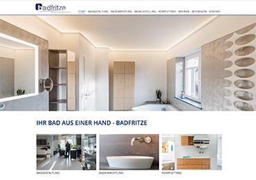 Badfritze. Website / Onlinemarketing