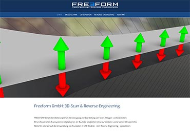 Website für Freeform, Alzenau